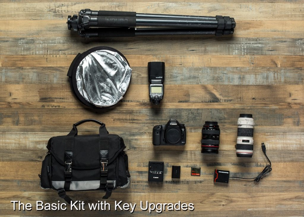 Building A Basic Camera Kit For Serious Photography