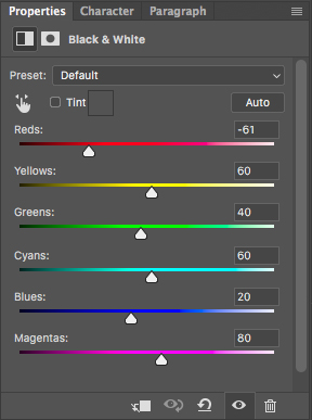 Combine multiple black and white adjustment layers for total tonal control in Photoshop