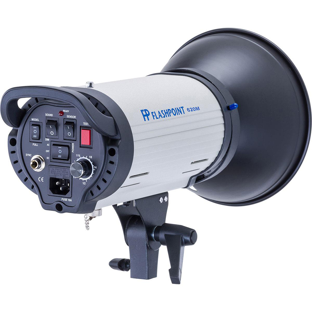 Monolight prices range from around $100 (like this Flashpoint 620M) to around $1000, depending on output wattage and features.